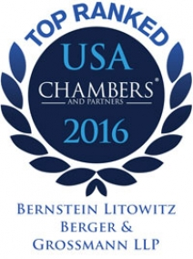 BLB&G Ranked a Top Tier Firm by Chambers for Eleventh Consecutive Year